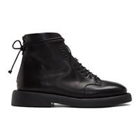 Marsell Black Gomme Polacco Boots
