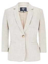Viyella Linen Jacket Natural