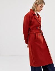 Minimum Moves By Trench Coat Red