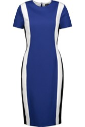 Raoul Altair Color Block Twill Dress Royal Blue