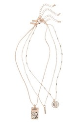 Topshop Women's Multistrand Necklace