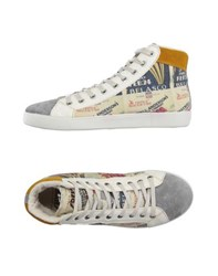 Springa Footwear High Tops And Trainers Men Ivory