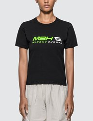Misbhv Europa Fitted T Shirt Black