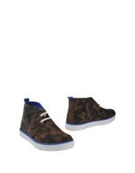 Drudd High Top Dress Shoes Military Green