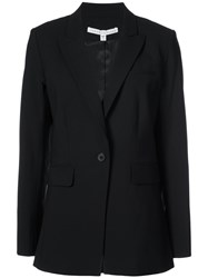 Veronica Beard Classic Fit Blazer Women Spandex Elastane Wool 2 Black