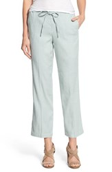 Nydj Women's 'Jamie' Relaxed Ankle Flared Pants Bluegrass