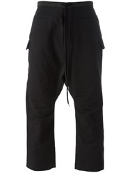 The Viridi Anne Cropped Trousers Grey