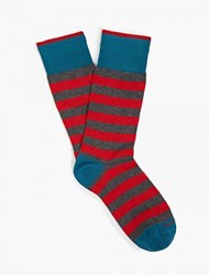 Etiquette Clothiers Rugby Stripe Socks