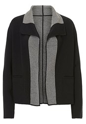 Betty Barclay Reversible Knit Jacket Black