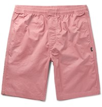 Stussy Cotton Twill Shorts Pink