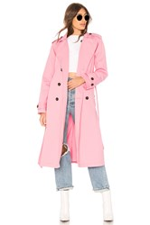 Nsf Dorian Trench Pink