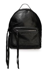 Mcq By Alexander Mcqueen Woman Leather Backpack Black
