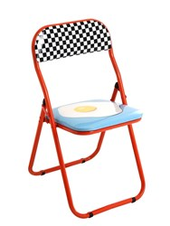 Seletti Egg Folding Chair Multicolor