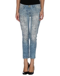 Shine Denim Pants Blue