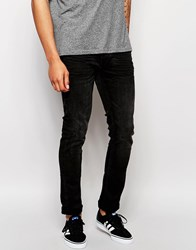 Blend Of America Jeans Cirrus Skinny Fit Washed Black Washed Black