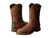 John Deere Wct 11 Pull On Light Coffee Men's Work Pull On Boots Tan