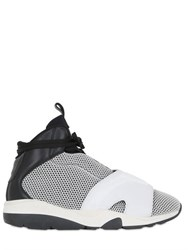 Casbia Blake Two Tone Leather And Mesh Sneakers
