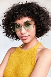 Urban Outfitters Slim Butterfly Sunglasses Green
