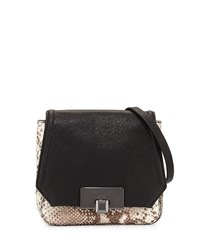 Kooba Filmore Mini Embossed Leather Crossbody Bag Python