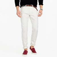 J.Crew Wallace And Barnes Straight Selvedge Jean In White