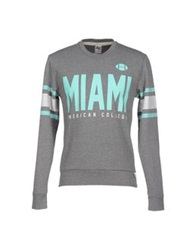 American College Sweatshirts Grey