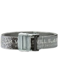 Off White Industrial Belt Grey