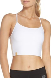 Monreal London Longline Bra White