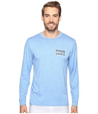 O'neill Mainsail Long Sleeve Performance Screen Tee Imprint Blue Men's T Shirt