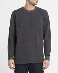 G Star Charcoal Calow Round Neck Sweatshirt Grey