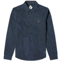 Barbour Beacon Dalby Overshirt Blue