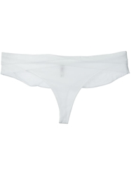 Chantal Thomass 'Encens Moi' Thong White