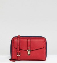Accessorize Whitney Red Cross Body Bag 60 Red