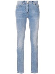 Versace Slim Fit Jeans Blue