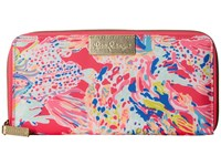 Lilly Pulitzer Travel Wallet Dragonfruit Pink Sunken Treasure Wallet Handbags