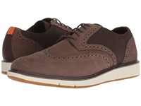 Swims Motion Wing Tip Oxford Brown Orange Shoes Multi