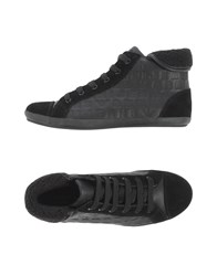 Armani Jeans Footwear High Tops And Trainers Women Black