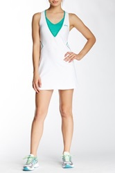 Asics Racket Dress And Short Set White