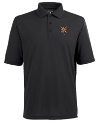 Antigua Men's Vegas Golden Knights Pique Xtra Lite Polo Gray