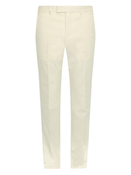 Gucci Flat Front Cotton Chinos