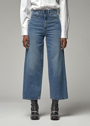 Toteme 'S Flair Jean In Washed Blue Size 25 100 Cotton