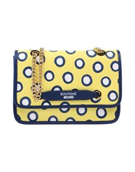 Boutique Moschino Handbags Yellow