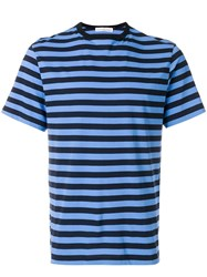 Golden Goose Deluxe Brand Striped T Shirt Black