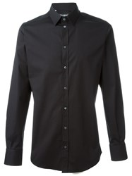 Dolce And Gabbana Classic Casual Shirt Black