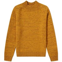 Norse Projects Viggio High Neck Neps Crew Knit Yellow