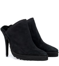 Y Project X Ugg Ls1 Suede Mules Black