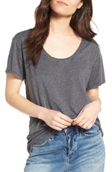 Treasure And Bond Women's Burnout Boyfriend Tee