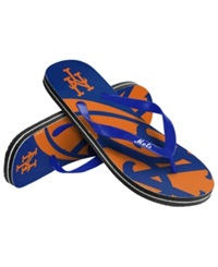 Forever Collectibles New York Mets Thong Sandals Blue