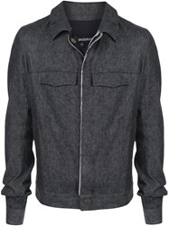 Cedric Jacquemyn Woven Collared Jacket 60