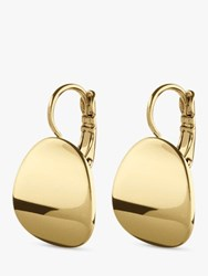 Dyrberg Kern Posey Hook Drop Earrings Gold