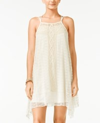 American Rag Lace Handkerchief Hem Trapeze Dress Only At Macy's White